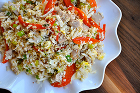 Fitness Stir Fried Rice