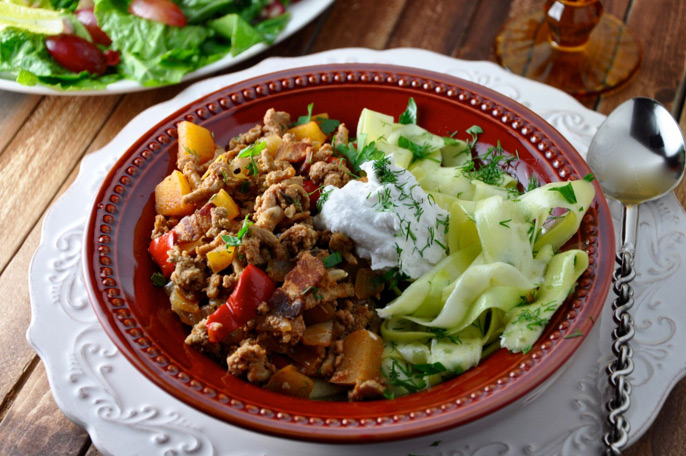 Fit Turkey Goulash