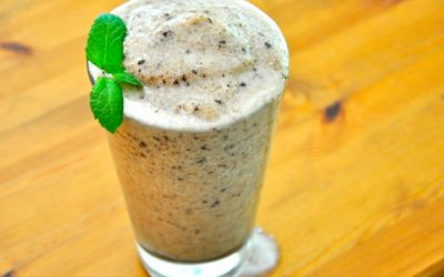 Chocolate Mint Shake