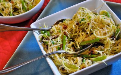 Zucchini and Asparagus Pasta