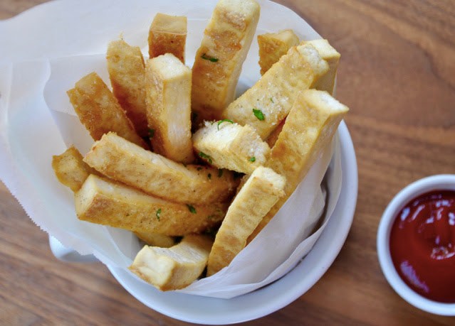 Tofu Baked French Fries
