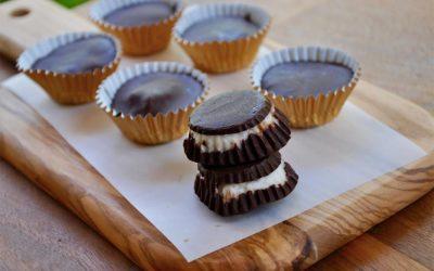 Dark Chocolate Coconut Cups