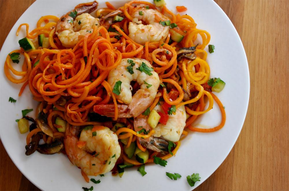 Asian Shrimp and Noodles