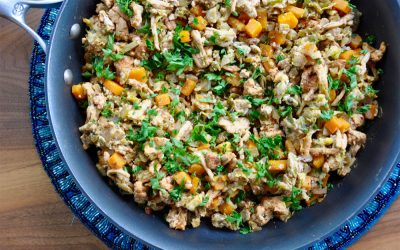 Easy Turkey Skillet