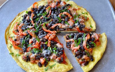 Low Carb Southwestern Pizza